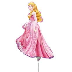 "Sleeping Beauty Balloon - 9"" Foil"