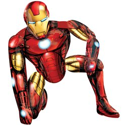 "Iron Man Airwalker Balloon - 46"" Foil"