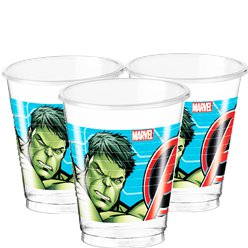 Mighty Avengers Plastic Cups - 200ml