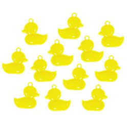 Baby Shower Favour Duck Charms