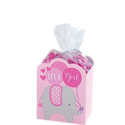 Baby Shower Pink Favour Box Kit