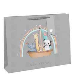 Hello Little One Gift Bag & Card