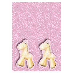 Baby Girl Wrapping Paper and Tags