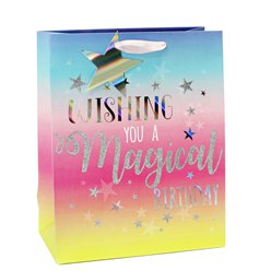 Magical Birthday Large Gift Bag - 33cm