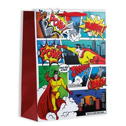 Comic Hero Gift Bag - Large