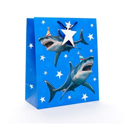 Shark Large Gift Bag - 33cm