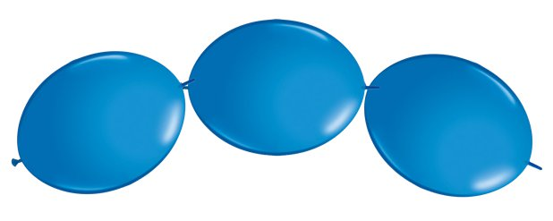 "Blue Quicklink Balloons - 12"" Latex"