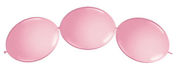 "Pink Quicklink Balloons - 12"" Latex"