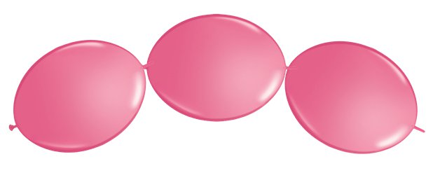 "Rose Quicklink Balloons - 12"" Latex"