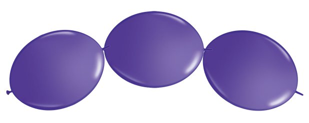"Violet Quicklink Balloons - 12"" Latex"