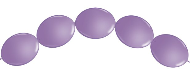 "Spring Lilac Quicklink Balloons - 6"" Latex"