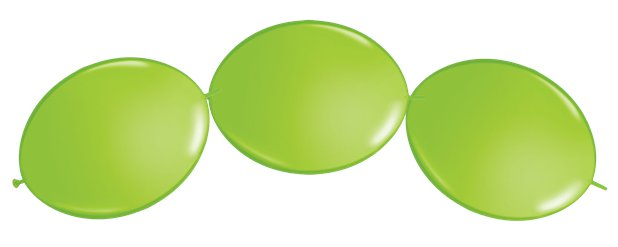 "Lime Green Quicklink Balloons - 12"" Latex"