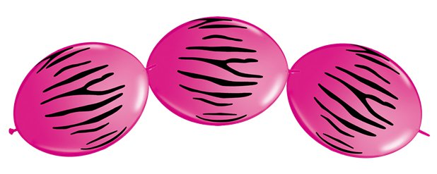 "Quicklink Wild Berry Balloons - 12"" Latex"