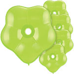 "GEO Blossom Lime Green Balloons - 16"" Latex"