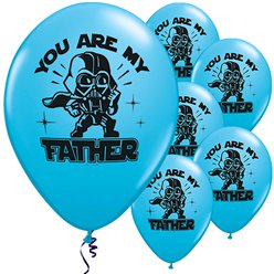 "Star Wars 'You Are My Father' Balloons - 11"" Latex"