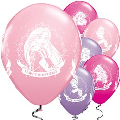 "Disney Princess Balloons - 11"" Latex"