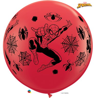 "Spider Man Giant Balloon - 36"" Latex"