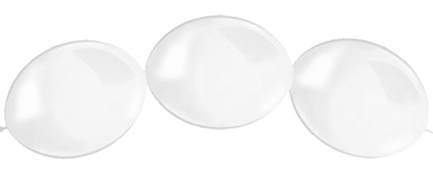 "Clear Quicklink Balloons - 12"" Latex"