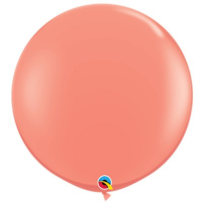"Coral Balloons - 36"" Latex"