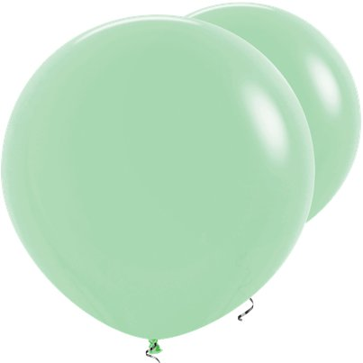 "Mint Green Giant Balloons - 36"" Latex"