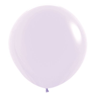 "Pastel Matte Lilac Balloons - 24"" Latex"
