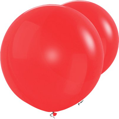 "Red Giant Balloon - 36"" Latex"