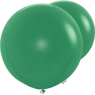 "Forest Green Giant Balloon - 36"" Latex"