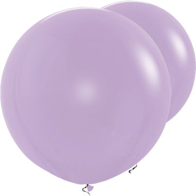 "Lilac Giant Balloon - 36"" Latex"