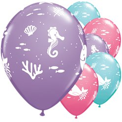 "Fun Under The Sea Balloons - 11"" Latex"