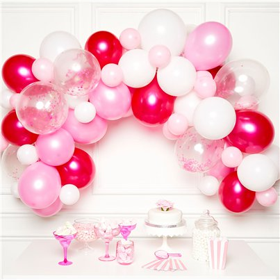 Pink BalloonArch Garland