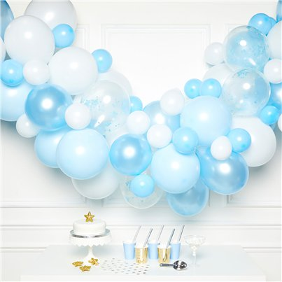 Blue BalloonArch Garland