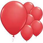 "Red Balloons - 11"" Latex"