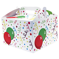 Streamers Balloon Box