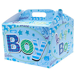 Baby Boy Balloon Box