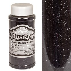 Black Balloon Glitter - 100g