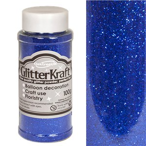 Royal Blue Balloon Glitter - 100g