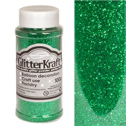 Emerald Green Balloon Glitter - 100g