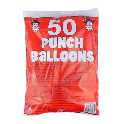 Assorted Punch Ball Balloons