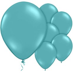 "Turquoise Balloons - 12"" Latex"
