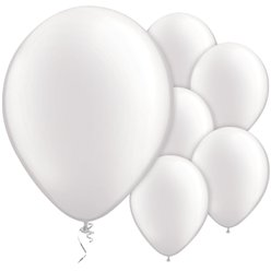 White Pearl Balloons - 11'' Latex