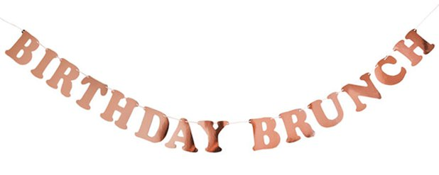 Birthday Brunch Banner - 2m