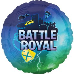 "Battle Royal Balloon - 18"" Foil"