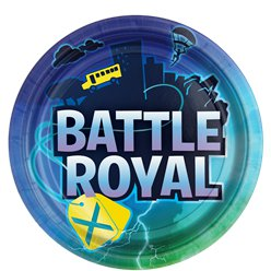 Battle Royal Paper Plates - 23cm