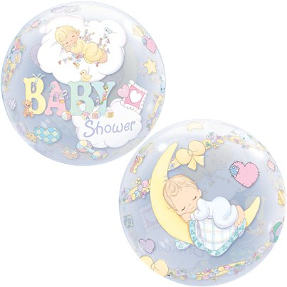 Precious Moments Baby Shower Bubble Balloon - 22""