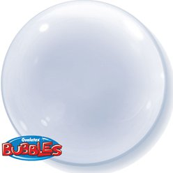 Clear Deco Bubble Balloon - 24""