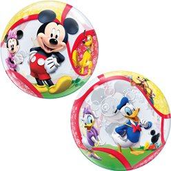 Mickey & His Friends Bubble Balloon - 22""