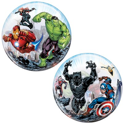 Avengers Bubble Balloon - 22""
