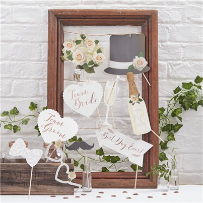 Beautiful Botanics Photo Booth Props