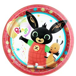 Bing Plates - 23cm Paper Party Plates