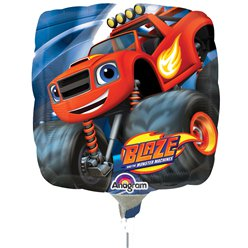 "Blaze Mini Airfilled Balloon - 9"" Foil"